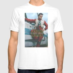 Poe Dameron II / The For… Mens Fitted Tee White SMALL