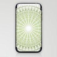 Green Mandala iPhone & iPod Skin