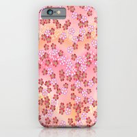 Rosa Blümchen iPhone 6 Slim Case