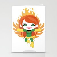 X-man Jean Grey 'Phoenix' Robotic Stationery Cards