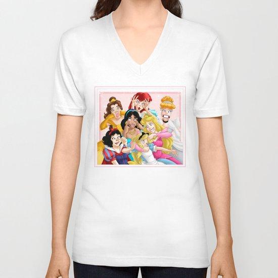 Smile for the Camera V-neck T-shirt