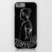 iPhone & iPod Case featuring Inverted Team Bun by Ashley R. Guillory