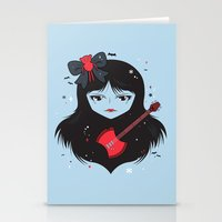 Kawaii Vampire Stationery Cards