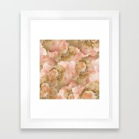 Gold In The Clouds Framed Art Print