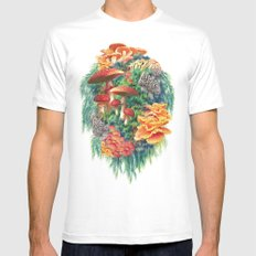 Fungus Amongus SMALL White Mens Fitted Tee