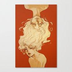 Dream more when you're awake Canvas Print