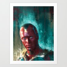 The Vision Art Print