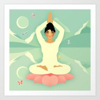 Sacred World: Yogini Art Print