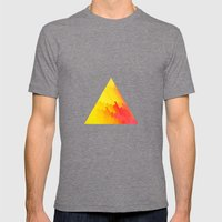 12Y Mens Fitted Tee Tri-Grey SMALL