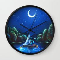 A Wondrous Place Wall Clock