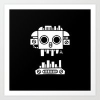 Mechanical Jolly Roger -… Art Print