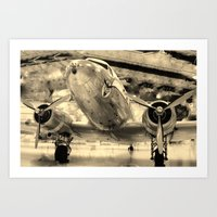 Galveston Air Museum Art Print