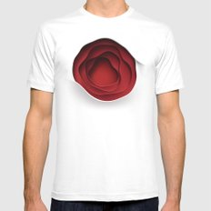Flower (2008) White SMALL Mens Fitted Tee