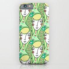 Alien Days Pattern Green Slim Case iPhone 6s