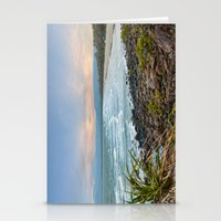 4mile Beach From Above Stationery Cards
