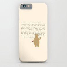 Writing Slim Case iPhone 6s
