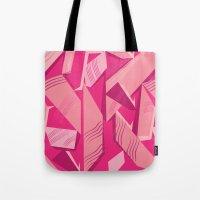 Pink Pattern Tote Bag