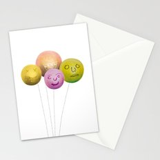 Happy Balloons Stationery Cards