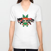 Supervillain Girls Unisex V-Neck