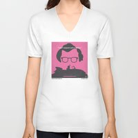 No147 My Annie Hall minimal movie poster Unisex V-Neck