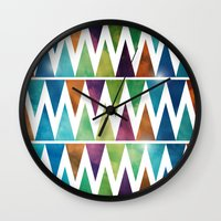 SkyFall Wall Clock