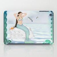 Seaside Mermaid iPad Case