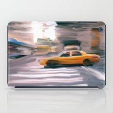 Taxi Cab. iPad Case
