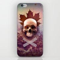 Skull And Leaf iPhone & iPod Skin