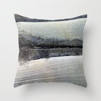 Obliterated Waveform Throw Pillow