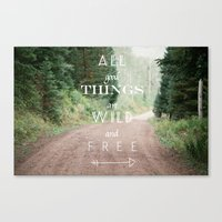 ALL GOOD THINGS Canvas Print