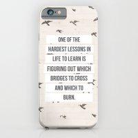 life lessons iPhone 6 Slim Case