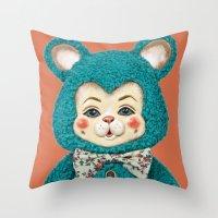 Bitsy the Bear Throw Pillow