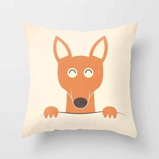 Pocket Kangaroo Throw Pillow