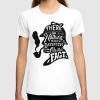 sherlock T-shirts featuring Sherlock by Alpha-Tone