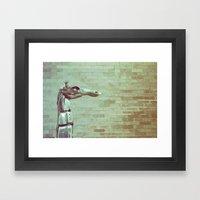 Urban Animal Framed Art Print
