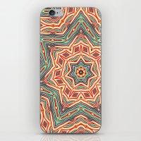 Tribal Colors Star iPhone & iPod Skin