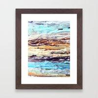 Wax #1 Framed Art Print