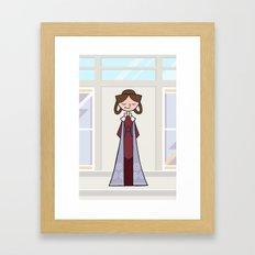 EP5 : Leia Framed Art Print