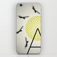 Flywheel (A is for Airplane) iPhone & iPod Skin