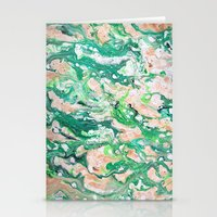 Moss Agate  Stationery Cards
