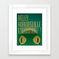 Kelly Hopkinsville Encounter Framed Art Print
