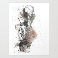 Disturbed Art Print