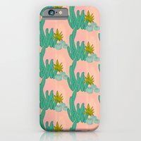iPhone & iPod Case featuring Cactus print by Jennifer Reynolds