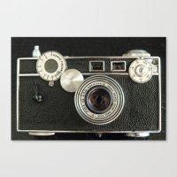 Vintage Range Finder Cam… Canvas Print