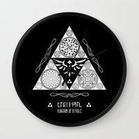 Legend Of Zelda Kingdom … Wall Clock