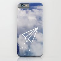 iPhone & iPod Case featuring Paper Plane by Leah Flores