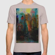 A moment in your city Mens Fitted Tee Cinder SMALL