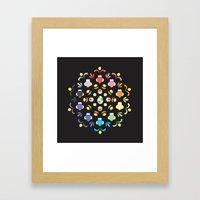 Yoshi Prism Framed Art Print