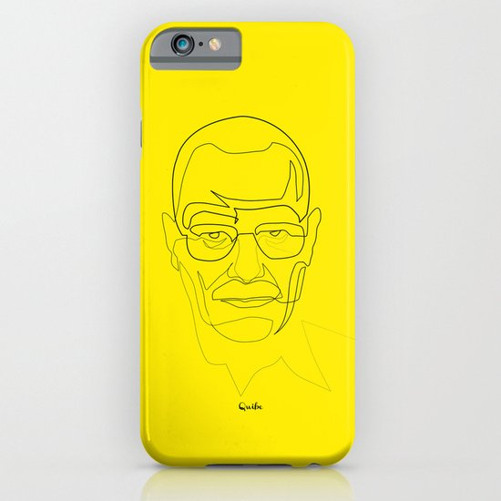 One Line Breaking Bad: Heisenberg iPhone & iPod Case