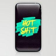 Hot Shit iPhone & iPod Skin